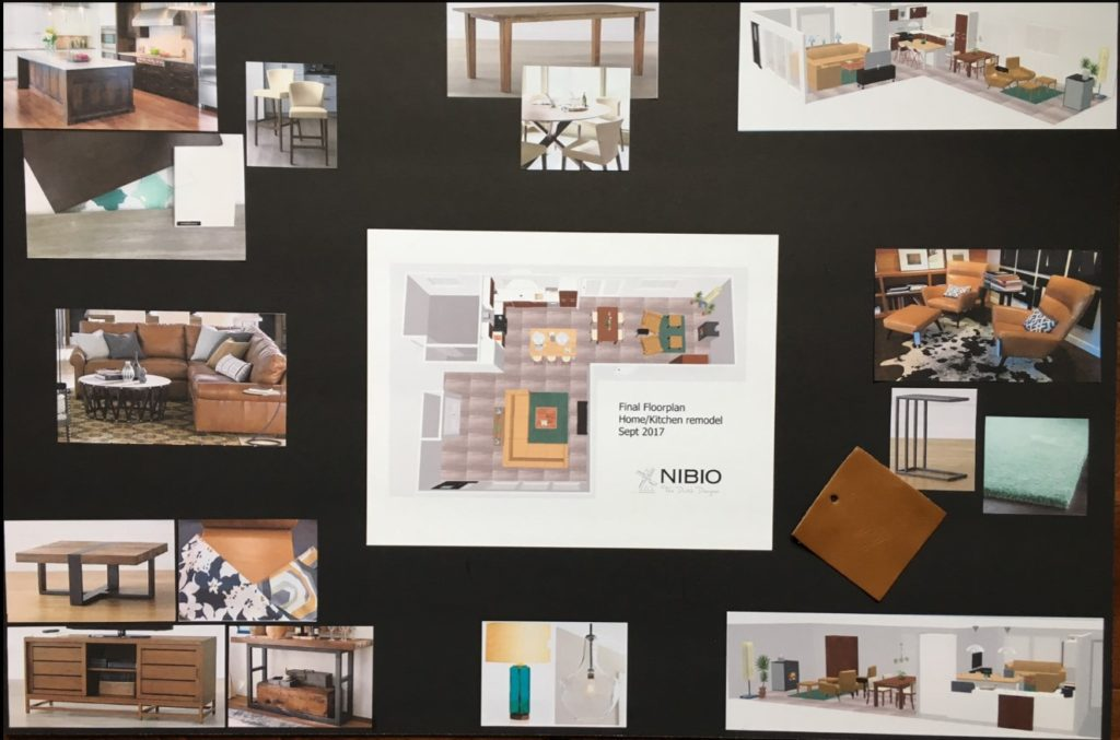 Final Mood board Home and Kitchen remodel